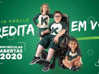 Koelle - Matrículas Abertas 2020 - Banner Site