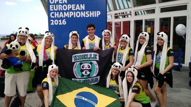Mundial de robótica - FLL Open European Championship 2016